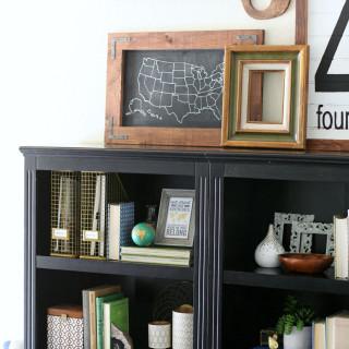 Helpful Tips for Styling Bookshelves