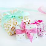 Metallic Foiled Gift Wrap