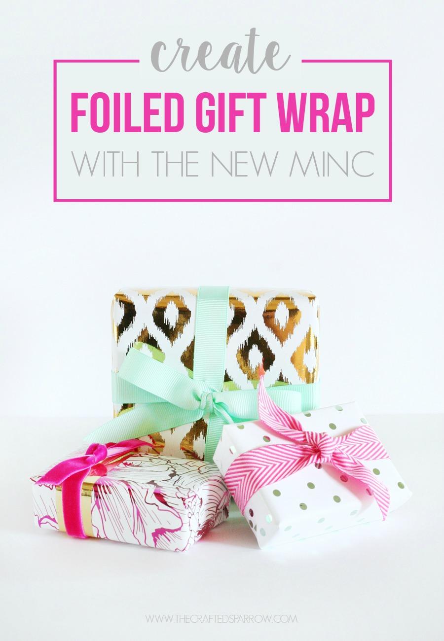 Minc Foiled Gift Wrap