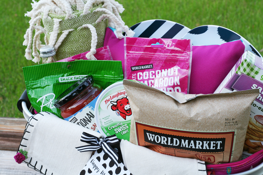 Mother's Day Picnic Gift Basket Idea