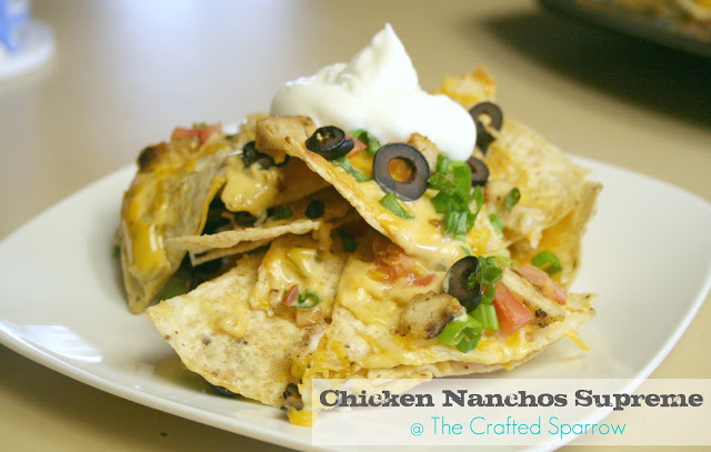 Chicken Nachos Supreme