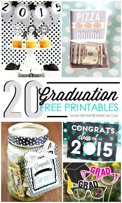 20 Graduation Printables