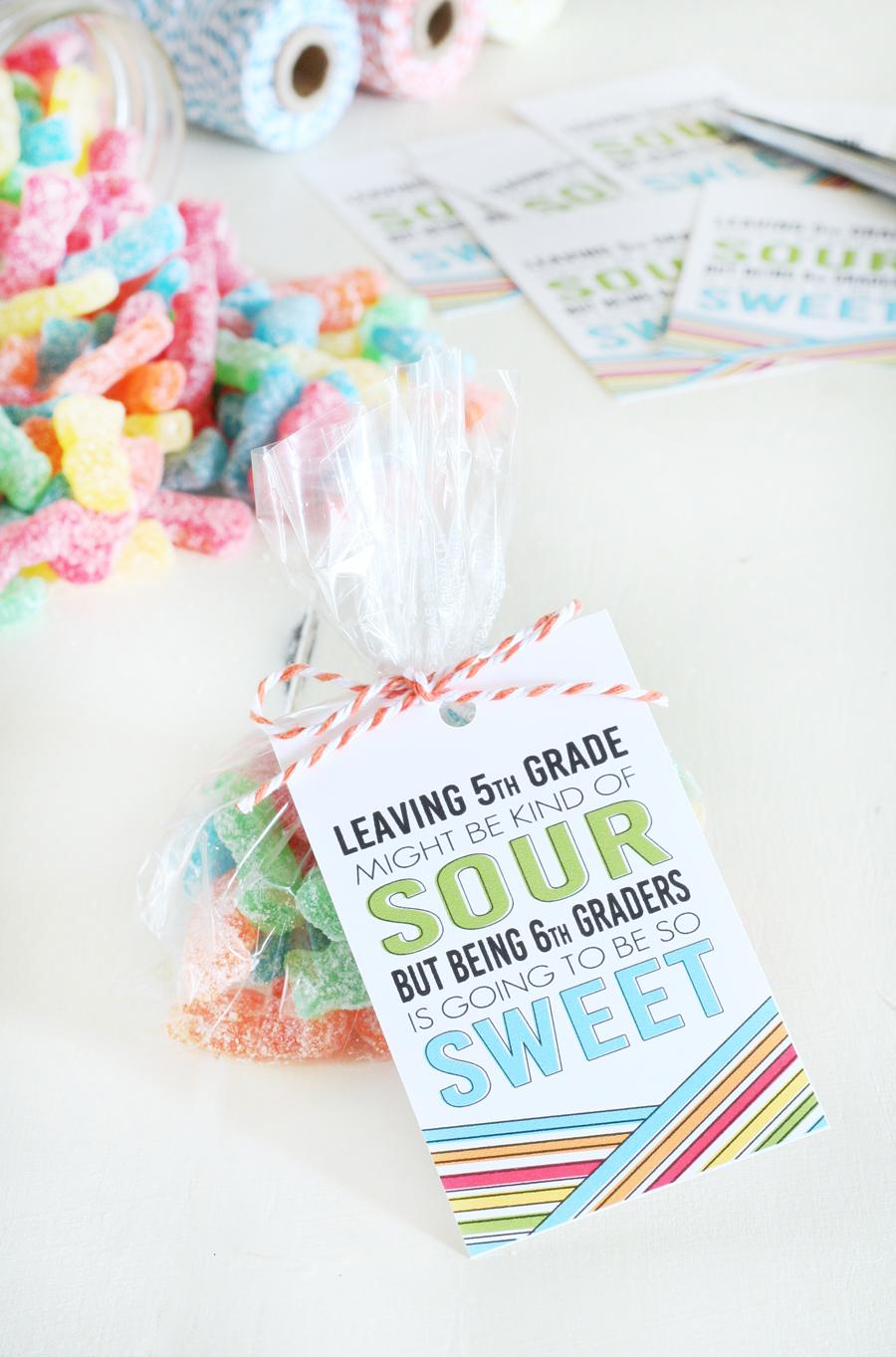 Class Gift Idea - Sour Patch Kids Printables
