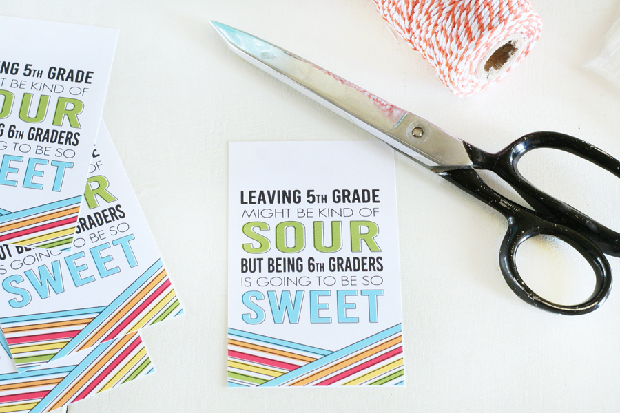 Class Gift Idea - Sour Patch Kids Printables