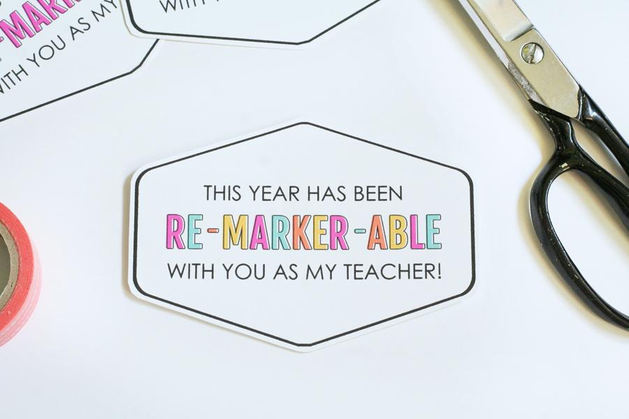 Re-Marker-Able Teacher Appreciation Printables 5