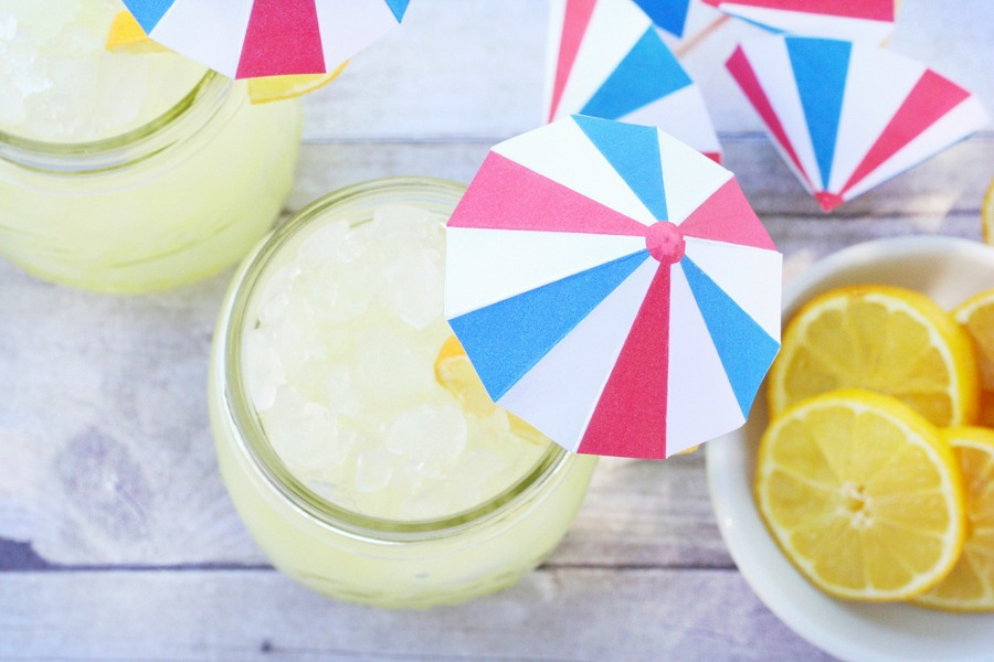 Patriotic Drink Umbrellas Printables