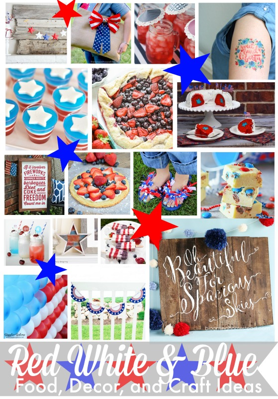 The Ultimate Red, White, & Blue Blog Hop
