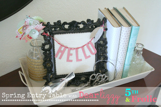 Spring Entry Table with Dear Lizzy – 5th & Frolic Products
