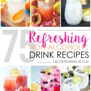75 Refreshing Non-Alcoholic Drink Recipes