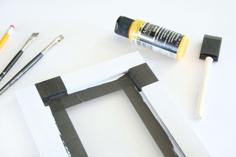 Pencil Frame Teacher Gift