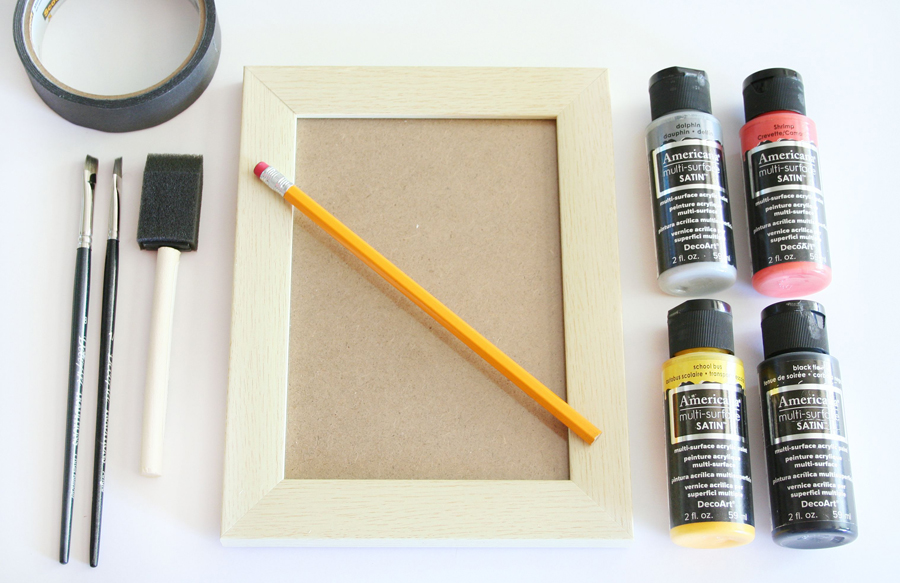 Pencil Frame Teacher Gift