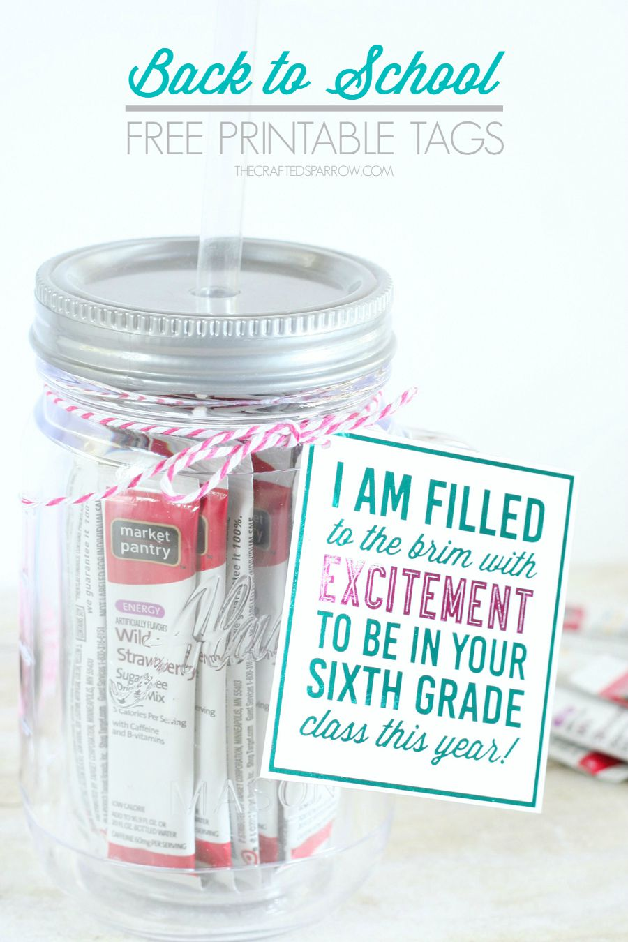 Back to School Free Printable Tags