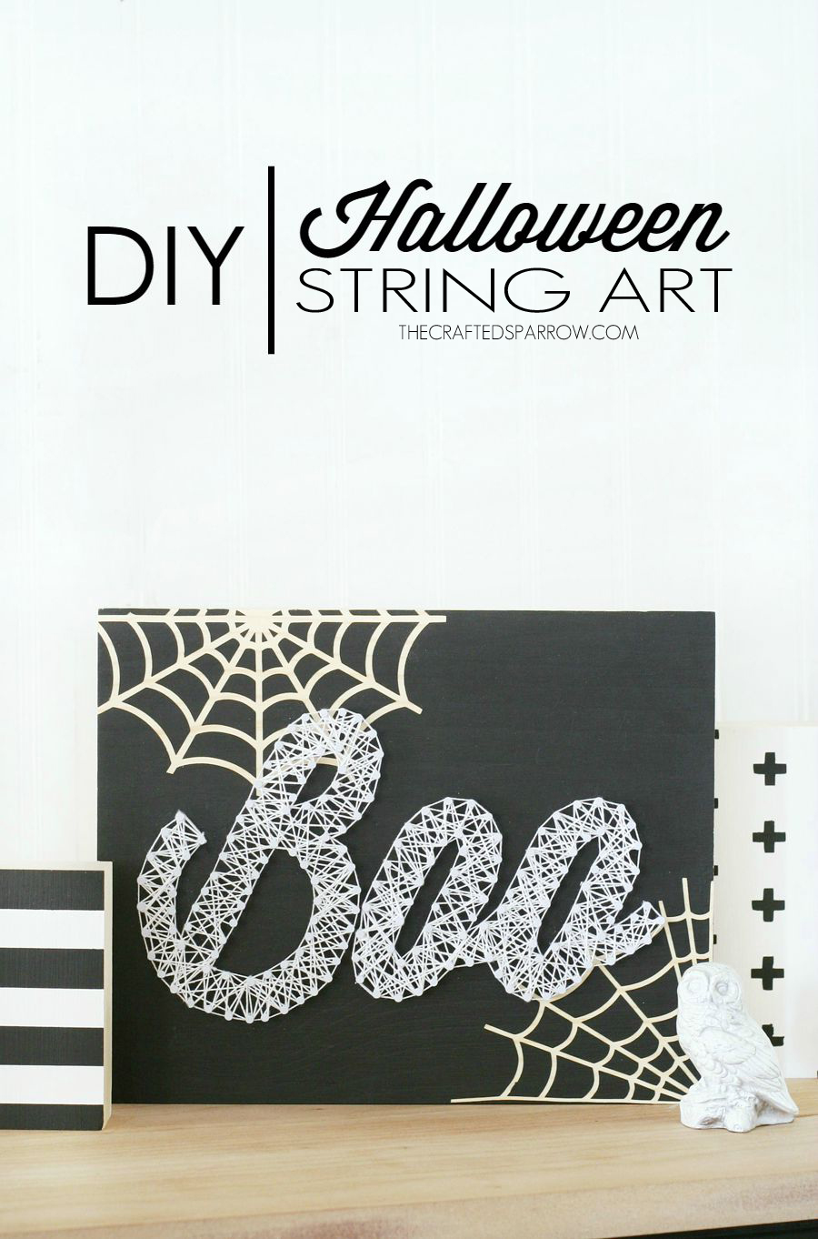 Halloween String Art