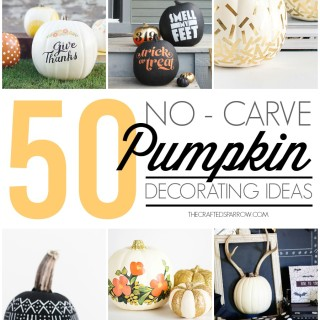 50 No-Carve Pumpkin Decorating Ideas