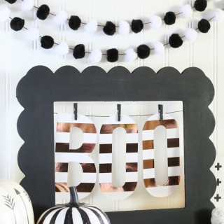 Easy Halloween Decor with Minc