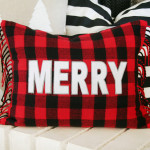 Buffalo Check Christmas Pillow