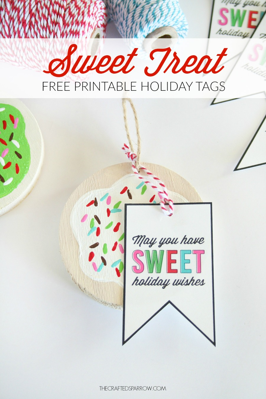 Free Printable Sweet Treat Tags