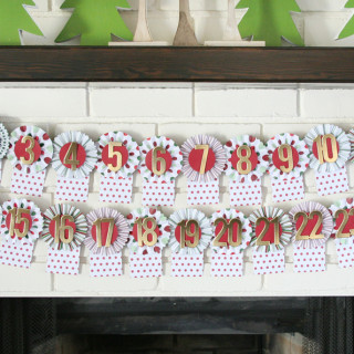 Holiday Advent Calendar Craft Kit