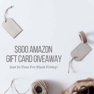 $600 Amazon Giveaway
