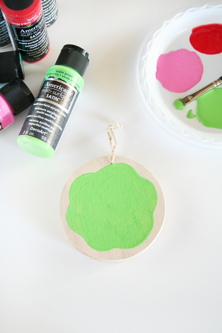 Painted Cookie Ornaments