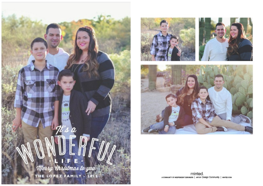 Minted Holiday Cards 2015