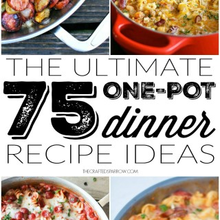 75 One-Pot Dinner Recipe Ideas