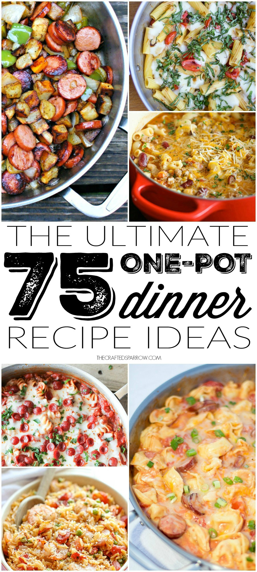 75 One Pot Dinner Recipe Ideas