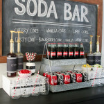 Coca-Cola Soda Bar and Easy Game Day Desserts