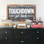 Chorizo Queso Dip and Football Party Ideas