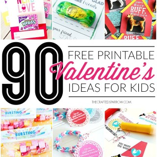 90 Free Printable Valentine's Day Ideas