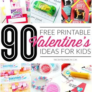 90 Free Printable Valentine's Day Ideas