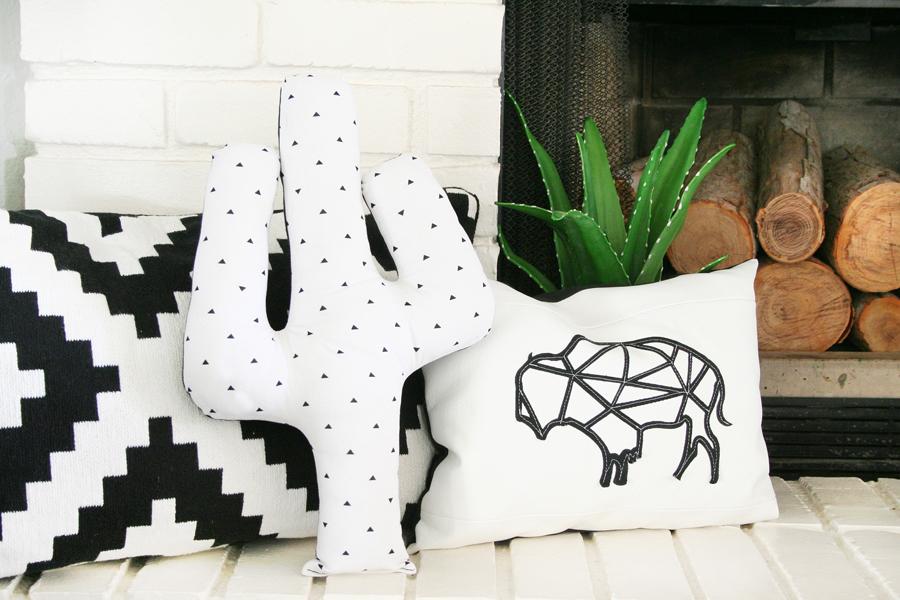 DIY Cactus Pillow