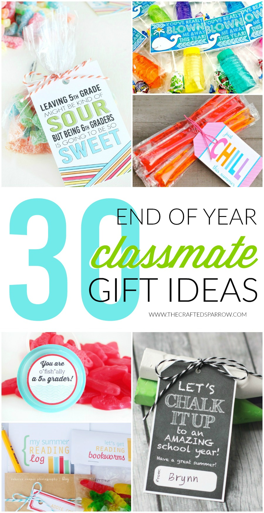 30 End of Year Class Gift Ideas