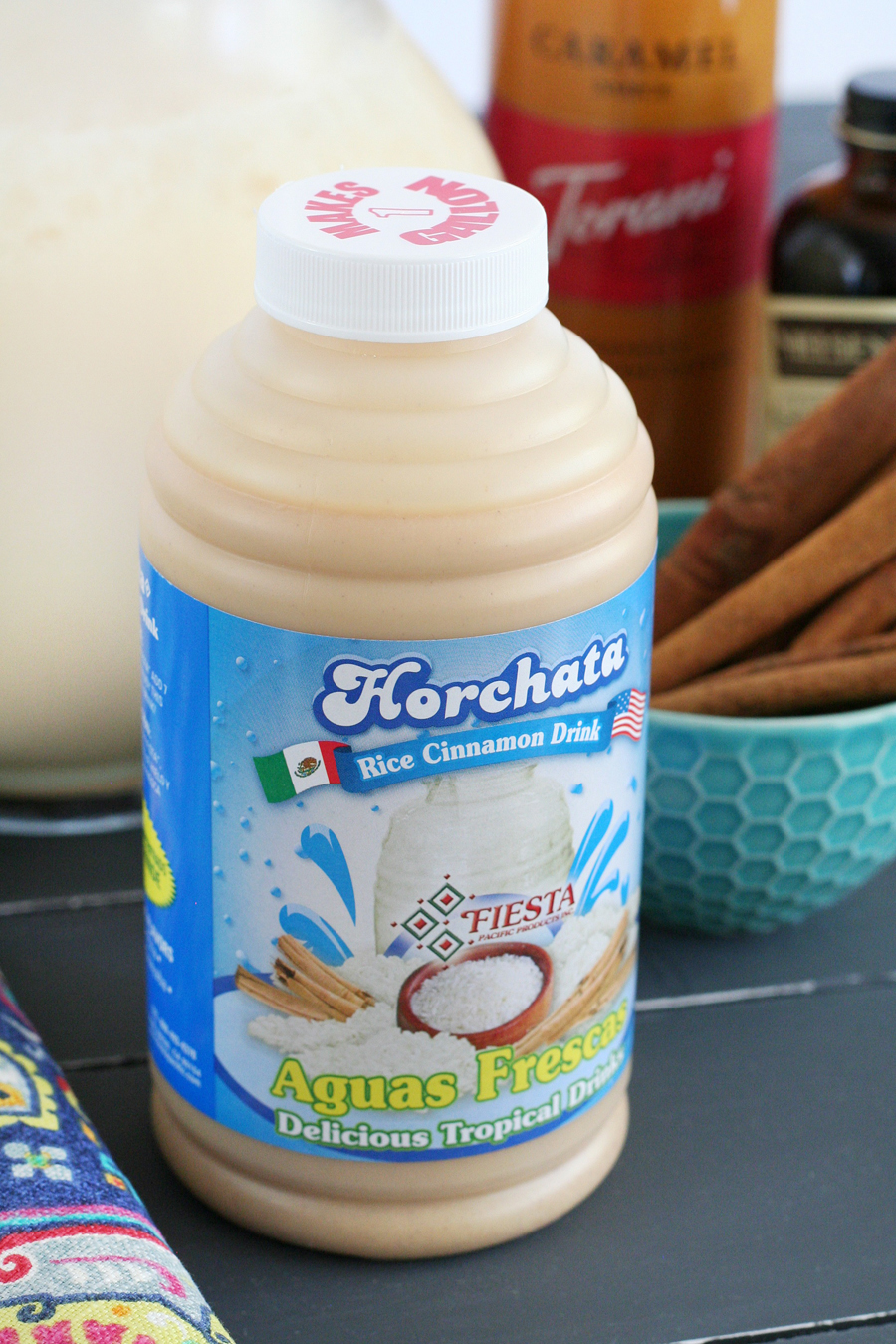 Creamy Caramel Horchata Cocktails