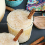 Creamy Caramel Horchata Cocktails