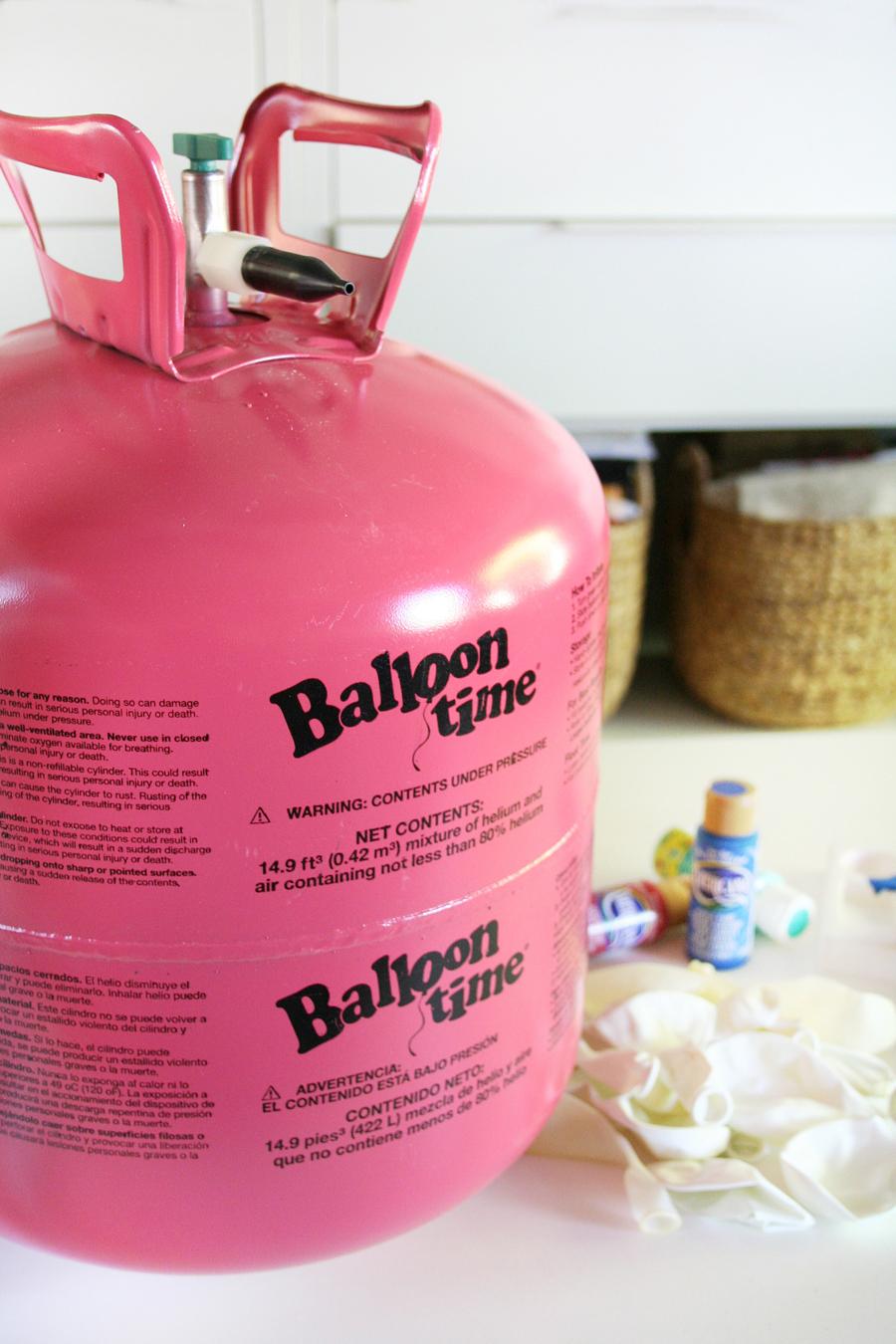 DIY 4th of July Balloon Decor