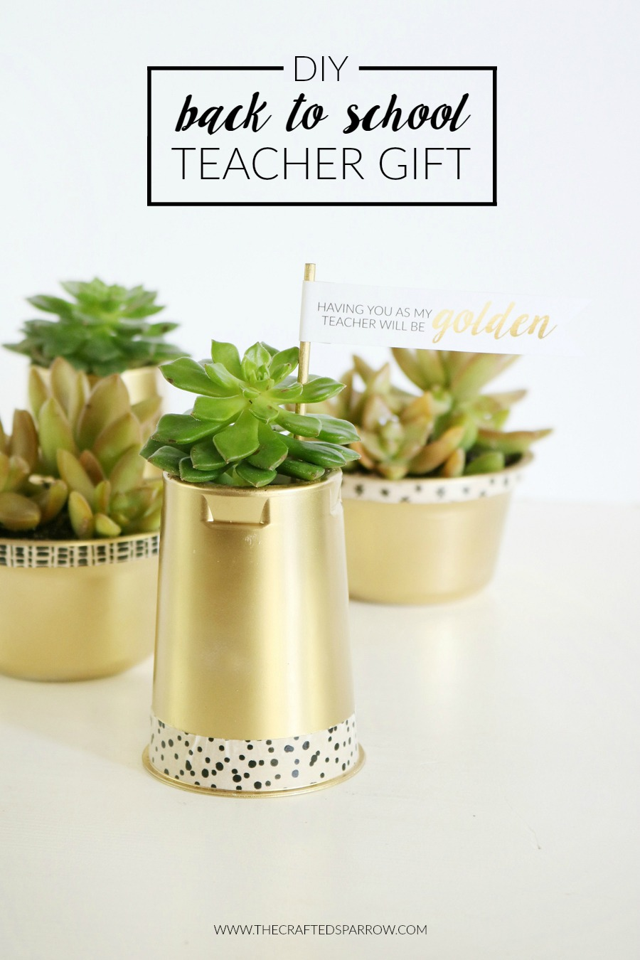 DIY Back to School Teacher Gift