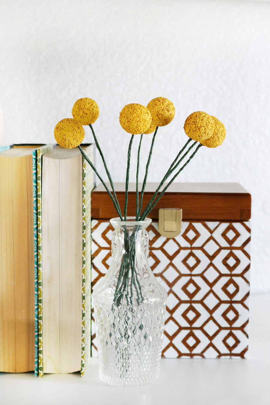 DIY Billy Ball Floral Stems