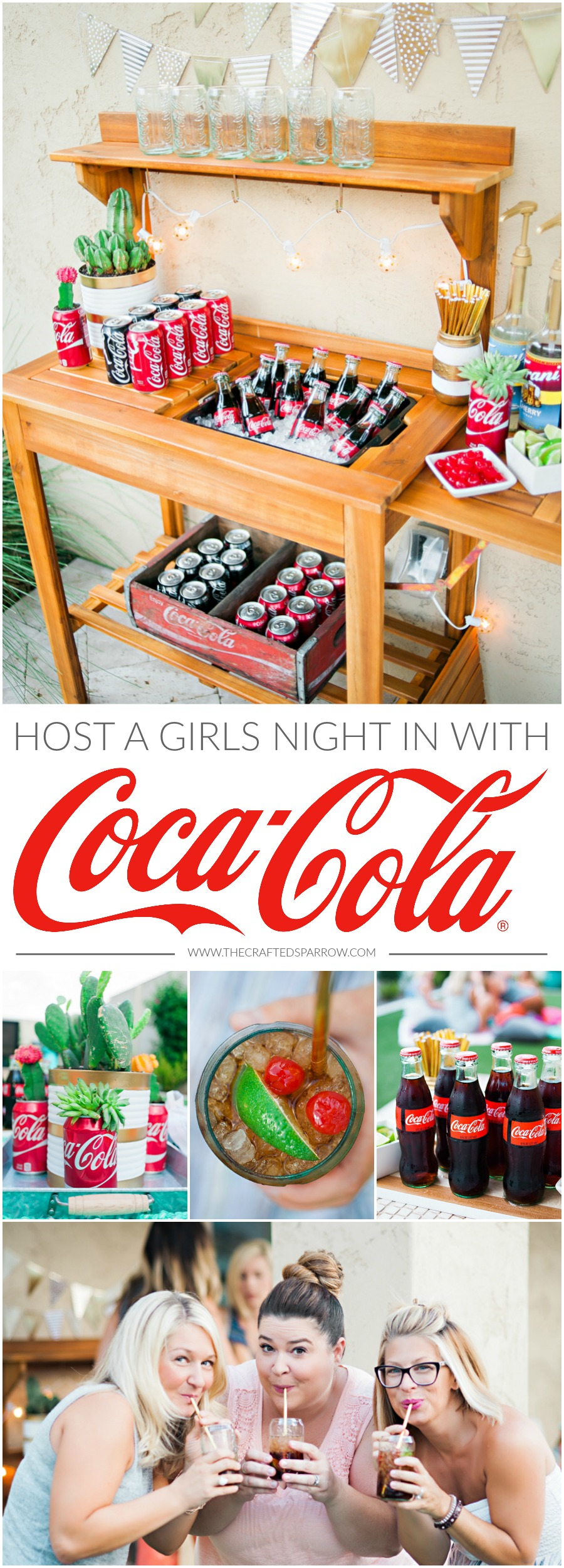 Girls Night In with Coca-Cola
