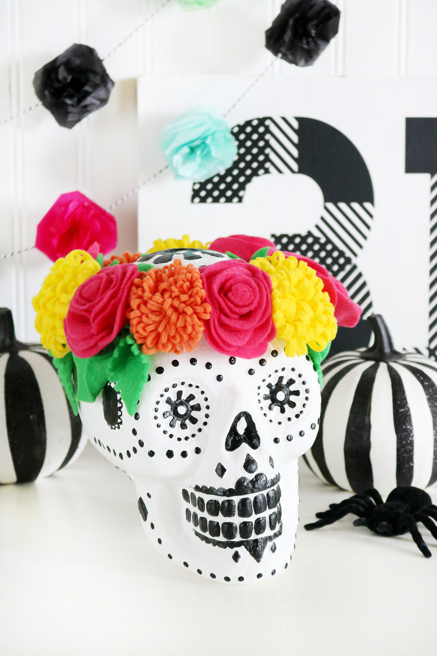 Sugar Skull Halloween Decor
