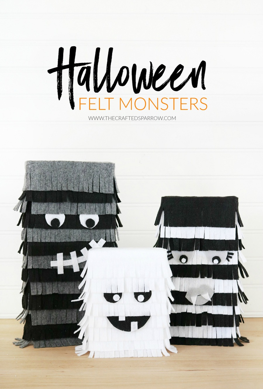 Halloween Felt Monsters