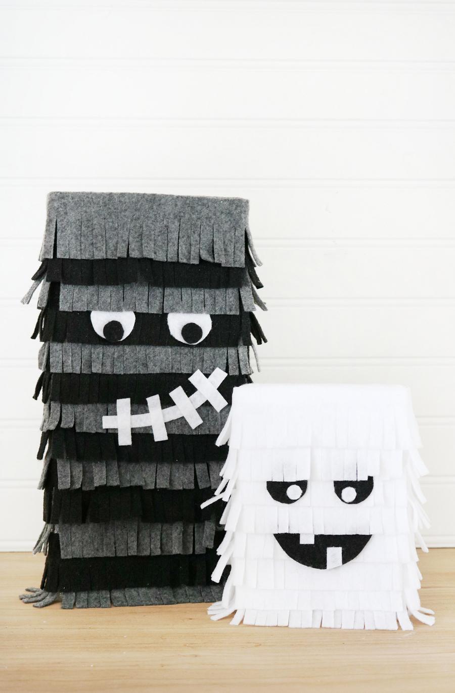 Halloween Felt Monsters