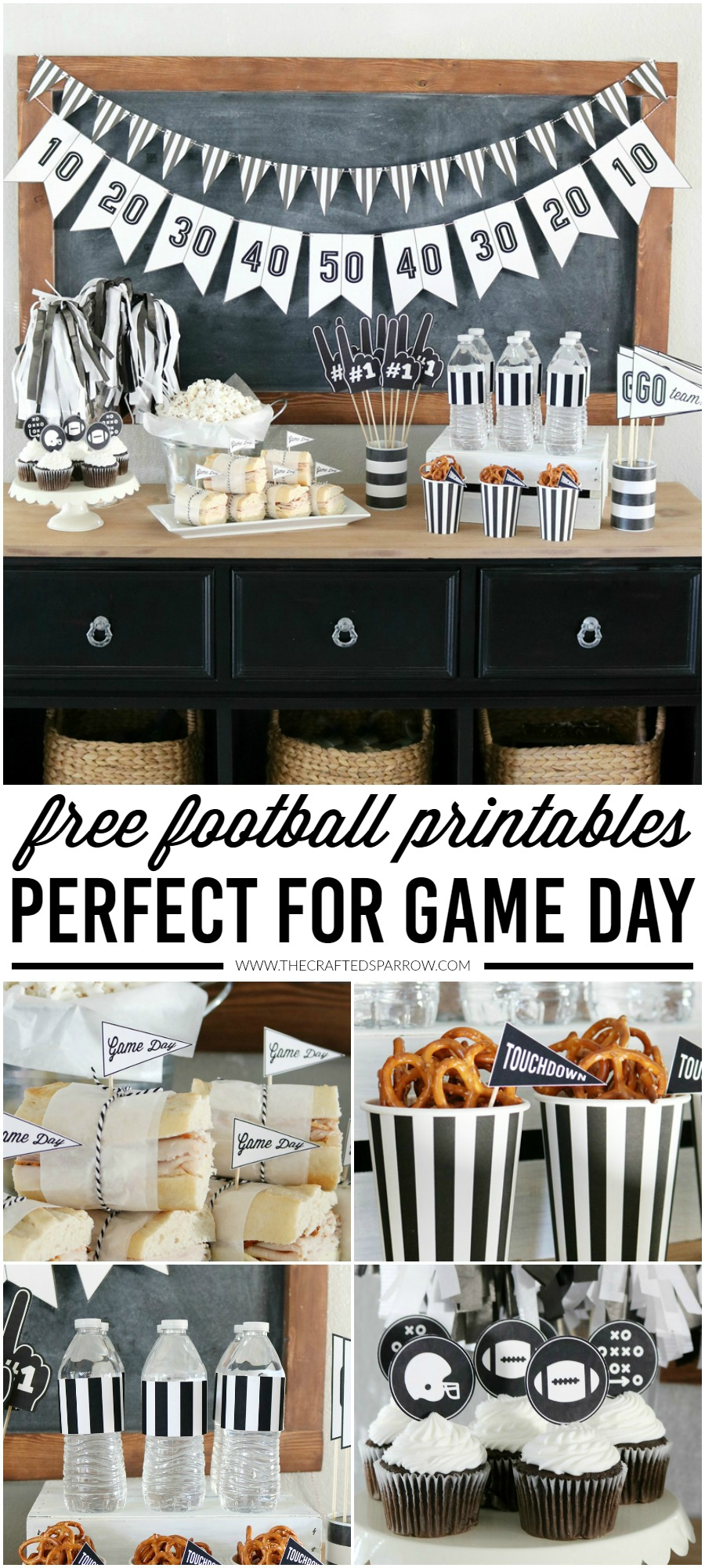 Free Game Day Football Printables