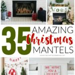 35 Amazing Christmas Mantels