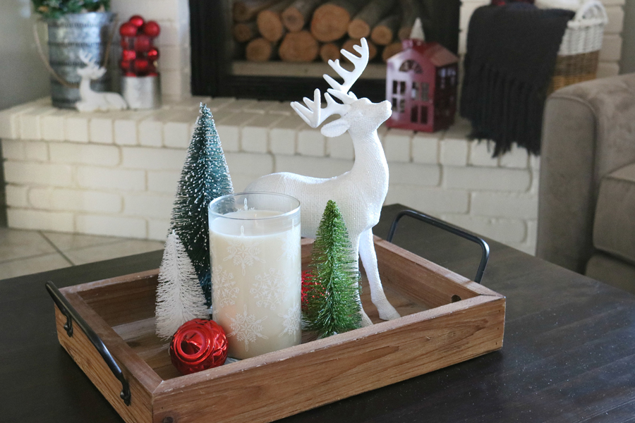 Buffalo Check Holiday Mantel