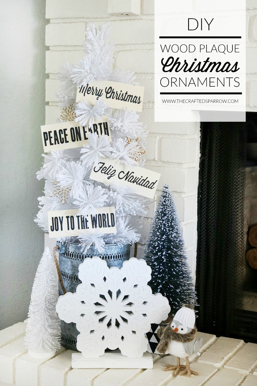 diy wood christmas ornaments - Diy Wood Christmas Decorations