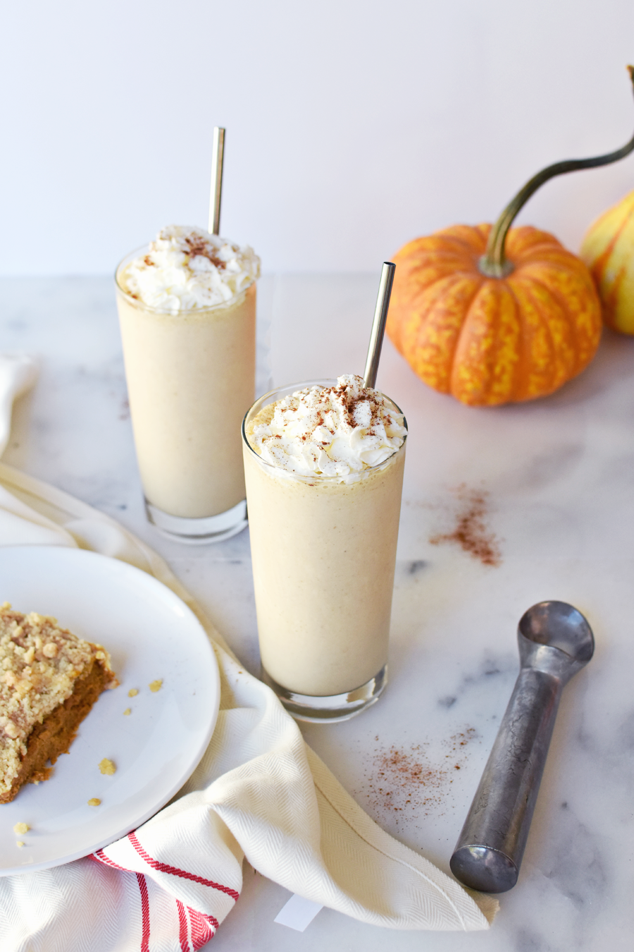 Thanksgiving Leftover Pumpkin Pie Shake