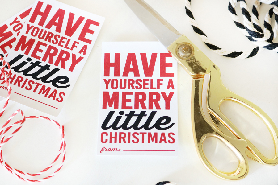 Coca-Cola Christmas Gift Basket Idea + Free Printable Christmas Gift Tags