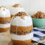 Pumpkin Pie Cheesecake Parfaits