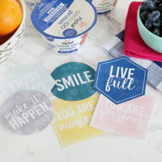 #LiveFull Yoplait Greek 100 Protein Free Printable Notes